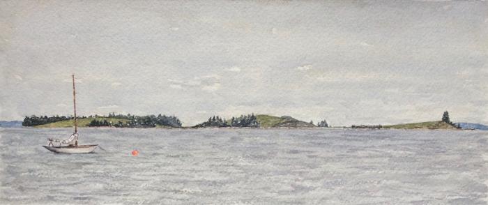 Meisner's Island, Nova Scotia.