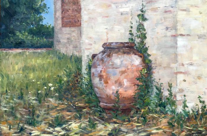 Orcio. 20 x 30 cm, Oil on Panel.